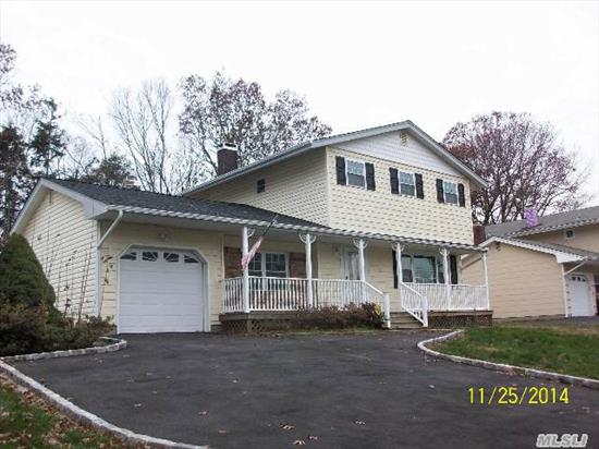 Located In Hauppauge With Smithtown Schools!  Newly Renovated And Ready For Your Family To Move Right In.  Hardwood Floors,  Granite,  Stainless Appliances And Generous Room Sizes!  All The Benefits Of New Without Waiting.