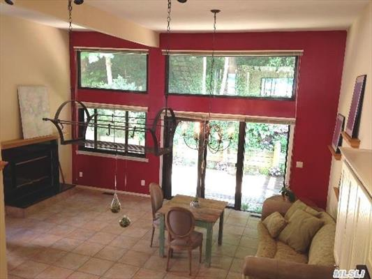 View From Living Room to Kitchen