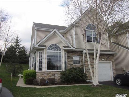 Move In Ready! Bright & Sunny Corner Ascot Model W/ Master En-Suite On Main Level, Eik W/ White Cabinetry & Gas Cooking. Sliders From Living Rm To Deck. Full Basement. Community Pool, Tennis & Clubhouse.