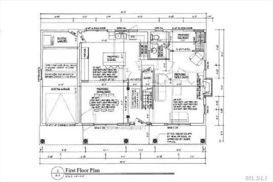 Open floor plan inside - traditional outside!