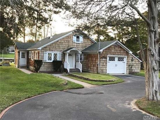 This Amazing Waterfront Property Is Perfection. Features Include: New Renovated Chef's Kitchen W/Granite Ctr Tops, Wolf And Subzero Appl', Cer Tile Floor, Copper Sinks, Central Air Conditioning, Master Ste W/Full Bath, Radiant Heat Under Tile, New Buderis Heat System & Hw Heater, New Roof, Thermal Windows & Doors, Bulk Head W/Elec & Water, Trex Boardwalk, Igs, Great Location