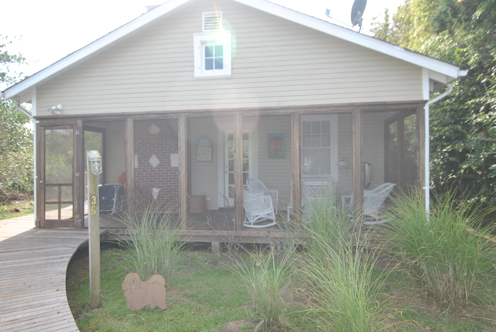 Beautifully renovated 3 bedroom, 2 full bath home located near town. Fully equipped. BBQ, outdoor shower, roof deck, screened in porch, and AC. Great Deal! Available for July 2018 for $15,000.