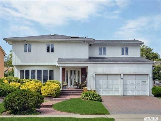 Elegant And  Beautiful 5 B/Room Side Hall Colonial. Perfect Layout For Big Family. Huge Den W/Fireplace .Nice Master Suite And Much More...