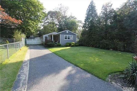 Nice Low Taxes With This 2/3 Br, 2 Bth Ranch With Full Basement And Detached 1 & 1/2 Car Garage In Holiday Beach Neighborhood.