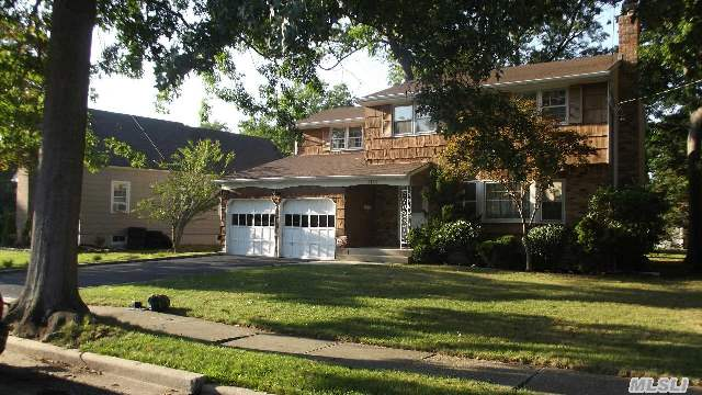 Custom Built Colonial- All Large Rooms. Oversized Property Located On Tree- Lined Street. All Info To Be Verified By Buyer.