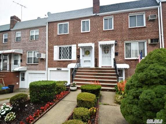 Charming Attached Brick Townhouse,  Mint Condition Move-In,  Updated Eat-In Kitchen,  New Roof,  Windows,  2 Air Conditioners,  Ceilings Fans In All 3 Bedrooms & Hallway,  Finished Basement With Kitchen & Bath,  Separate Entrance To Beautifully Landscaped Backyard & Separate Entrance To Driveway & Garage. School District #26