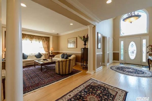 Large entry foyer