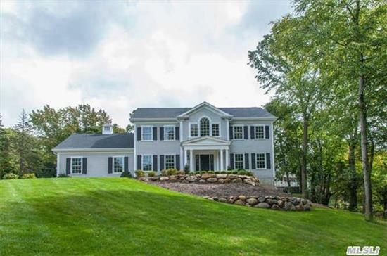 Spectacular New Construction. True Five Bedroom Center-Hall Colonial. Three-Quarter Acre Parcel- Cul-De-Sac Setting. Beautiful And Very Desirable Location. Top-Of-The-Line Amenities. Time To Customize. Beach, Mooring And Tennis Rights (Fee)- Convenient To All. Cshsd#2.