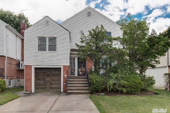 One Family Detached In Prime Location Of Kew Garden Hills. Close To Main Street,  Transportation,  Shopping Area,  Synagogues,  Private Schools,  Day Cares,  Post Office,  Banks And More! Ideal Home For Large Family,  Has Potencial To Extend. Owners Relocating,  A Must See! Won't Last!