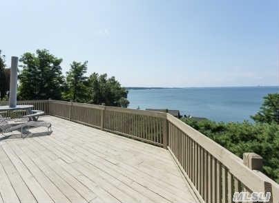 Wraparound Deck with Water Views