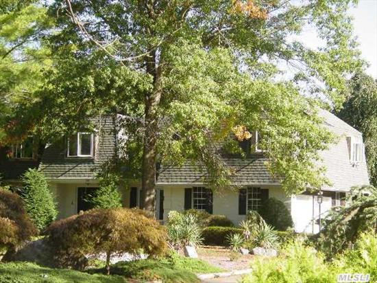 Newer Andersen Windows. Oak Floors,  Updated Electric System. Piano Shaped Gunite Pool,  Level Two Acres,  Specimen Plantings,  Evergreens & Trees. Walking Distance To Csh High,  Jr. High School Thru Trails Thru Nature Conservancy Paths Near-By,  Eagle Dock Beach & Mooring Rights.