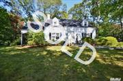 Spacious And Expanded Colonial On Over  Half Acre,  Two Fireplaces,  Large Great Room With Sliders To Yard.  Large Formal Dining Room. This Home Has Tons Of Character And Great Bones.  Lots Of Potential.  Sold As Is.