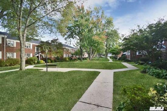 1 Bedroom,  2nd Floor Co-Op. Elegantly Updated Kitchen And Bath. Beautiful Courtyard Location. Exposed Hardwood Floors,  California Closets. New Fixtures. Pristine,  Off Street Parking,  Common Charges Include Heat,  Taxes,   Maintenance,  Pool,  Building Ins.  W/Star $577.  Move In Ready.  New!  Hallway Renovation 2015!