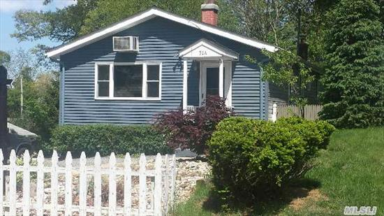 New Price!!#! Charming & Larger Than It Looks! Perfect For 1st Time Buyer,  Down Sizing Or Investor. Must See To Appreciate All This Home Has To Offer. 5 Brs 2 Full Baths,  Low Maintenance,  W/In Close Proximity To Nissequogue River,  Deeded Beach Rights & Winter Water Views. All This In A Waterfront Community For $339000? Now That's Value!