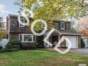 Cul-De-Sac Tranquility. 4 Br,  1.5 Bth Colonial On Private Prof. Landscaped .35 Acre. Updates Incl. Kitchen W/ Granite Counters And Stainless Steel Appl. Baths,  Anderson Windows,  200 Amp Elec.,  Siding,  Alarm System. Features Wood Flrs,  Gas,  Cac,  Crown Molding And Inground Pool,  Hot Tub. Make This Harborfields Home Your Own!
