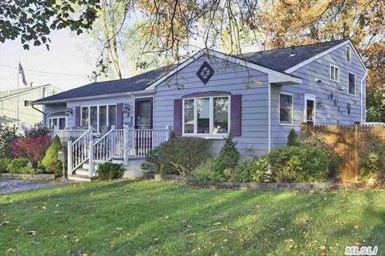 Renovated In '03-No Expense Spared.  Hw Floors,  Andersen Windows,  Young Roof,  Tankless Hw Heater,  Oak,  Granite/Ss Kitchen,  500 Sq Ft Bi-Lvel Deck,  Gas,  Cac,  Laundy Upstairs,  Igs,  26X10 Fdr,  Fam Rm,  Granite Bath,  Upgraded Electric.  Too Much To List!  Almost 2000 Sq Ft Of Living Space. You Couldn't Rebuild It Like This For The Price!  Seller Motivated-Submit All Offers!