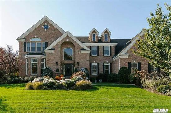 Featured In The New York Times On 2//8/15!  24 Hour Gated Com With Pool,  Tennis,  Golf And Fitness. (Dues Req'd) Light And Timeless Kitchen With Casual Yet Large Center Island And Turreted Breakfast Room. Game Room W/Fireplace And Full Bar. Country Club Yard Has Outdoor Kitchen,  Pool And Pergola. Taxes With Star $27, 721 Membership Dues $700/Mo