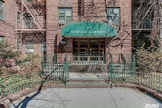 Corner Large Bedroom, Large Living Room, Windowed Kitchen,  Windowed Full Bath, Historic District Of Jackson Heights, Near Transportation 7, E, F, M, R Train, Express Bus To Manhattan And To Airports. Shopping And Lots Of International Restaurants, Houses Of Worship.Location!!!