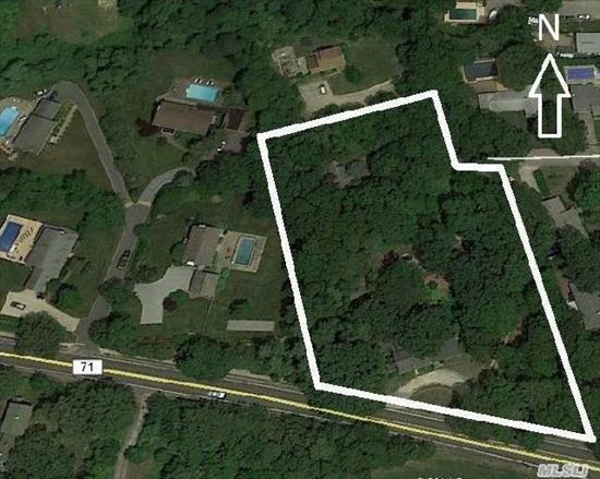 Feasible Multi-Lot Subdivision In R-20 Zoning District. Currently Comprised Of Three (3) Residences On A 2-Acre Lot -- 4, 000 Sf House, 700 Sf Cottage, & 550 Sf Cottage. House Layout Is Well Suited For Home Occupation Too. Alternate Access To Property From Wayne Ct.