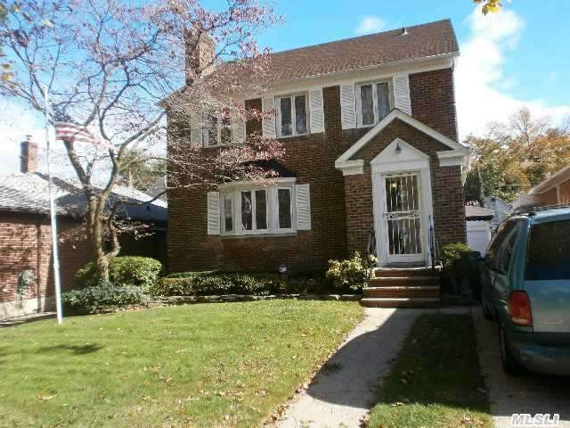 New Roof,  New Windows,  New Heating System , Sprinkle System,  Cac On Second Floor ...Side Hall Brick Colonial A Must See...