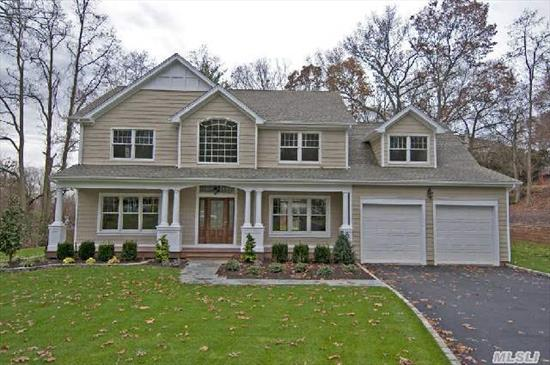 Magnificent New Colonial With High End Materials.  Situated On Beautiful Acre. Features 5 Brs,  3 Full Bths,  Granite Eik With Sliders To Large Deck.  Maintenance Free Exterior.