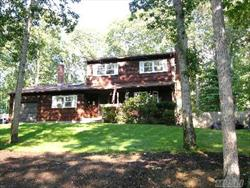 Lovely Colonial On Large   Treed Lot, Eik Opens To Formal Dining Room; Beautiful Formal Living Room; Inviting Den With Fireplace & Skylight; 2 Full Baths (Upstairs W/Jacuzzi); Brand New Deck With Fenced Yard; Inground Sprinklers; New Belgian Block Driveway W/Extra Parking; Walk To Private Lake W/Beach And Boating. Winter Lake View.  This House Has It All!Taxes*8,907.63