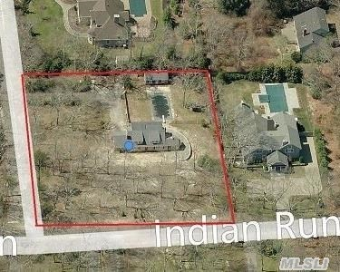 Bring Your Vision To This 2100 Sq Ft Expanded Cape In The Desirable Community Of Pinesfield. This Bay View Home Sits On 1 Full Acre. The Home Currently Has 3 Bdrms,  2 Baths,  Lr W/Fplc,  Dr & Bonus Rm. Renovations Have Been Started But Not Completed. With Comps Of Up To 1.7 Million In Pinesfield,  Make This Home Your Next Investment.