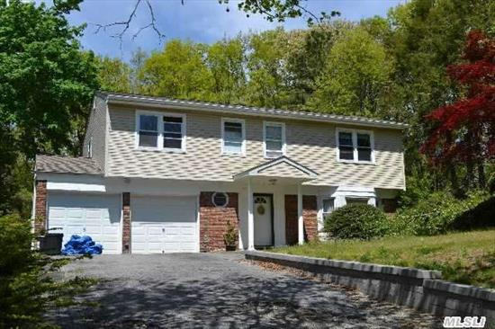 Price Adjusted, Must See To Appreciate! Large 8 Room, 4 Bedroom, 2.5 Bath. . Den With Wood Burning Fireplace. Oversized Driveway With 2 Car Garage. Kings Park Mailing Address With Smithtown Sd #1 Public Schools No Star Currently Since It Was A Rental, Taxes Can Be Grieved.