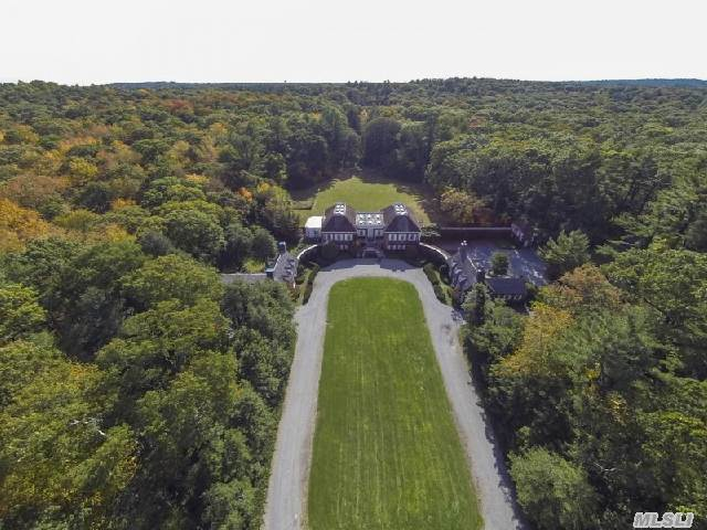 Easton,  An Estate With Architectural Character And Grace,  Is Situated On Nearly 100 Acres And Surrounded By The Nature Preserve. Easton Offers Unparalled Privacy And Seclusion. Unique Opportunity To Own One Of A Kind Gold Coast Estate.