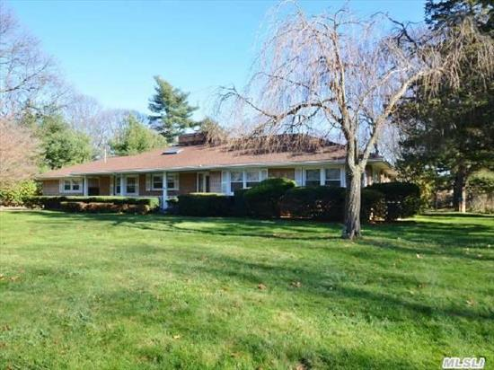 Beautifully Maintained Spacious 4 Bedroom Wideline Ranch On 1.25 Acres. Perfect Mid-Block Location On A Quiet Cul-De-Sac. Fully Fenced Country Club Backyard With Igp (New Liner & Cover),  Patio With New Automatic Awning,  Mature Landscaping. Hardwood Floors Throughout,  Plenty Of Closets,  Updated Heating,  Cac,  Windows,  Full Basement. Come Make It Your Own.