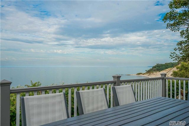 Spectacular Views Of The Long Island Sound In All Directions And Beach Access, New Trex Decking On 2 Levels, Walk Out Basemet With Gym And Poolroom/Bar, Master Ensuite Facing Water With Private Deck, 2 Car Garage, An Unbelievable Opportunity For A Waterfront Retreat!!