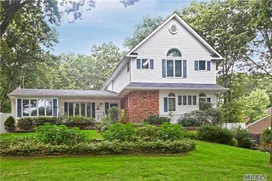 This Is The Home You Are Waiting For In The Commack Sd On A Beautiful Street W/ Sidewalks & Lamp Posts, Across From A Greenbelt. Home Features An Amazing 2nd Fl Master Suite W/Huge Walk In Closet And Beautiful Full Bath. 1st Fl Master Suite W/Full Bath, Perfect For Visitors. Relax In Your Private Yard, W/ Heated Inground Pool/Spa. Add Your Personal Touches To This Beauty.