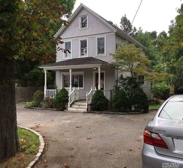 Classic Colonial Just Listed In Huntington Property Lovers Dream With Extra Deep And Huge Backyard. Deck With Built-In Jacuzzi, 95% New Interior. Updated Baths, New Siding, Large Eik With Sliders To Deck.