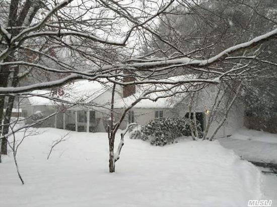 Secluded Setting W/Mature Trees & Plentiful Landscaping. Resort-Like Setting. In-Ground Pool. Lg Andersen Casement Windows Make Space Airy & Bright. Generous Sized Rooms: Oversized Eik W/Granite Counters,  Mudroom W/Laundry. Master Br/Bth On 1st Flr,  2nd Flr Also Offers Master Suite Sized Br  & Walk-In Attic Space. Plenty Of Storage.  Instant Equity! Pre-Appraised At $825K.