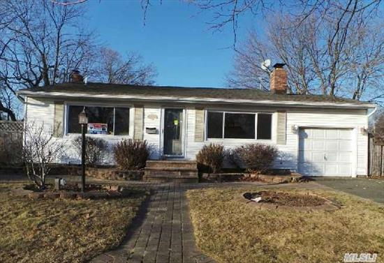 This Is A Fannie Mae Homepath Property.Lovely Wide Line Ranch In Babylon With 6 Room 3 Br 2 Bath,  Living Room With Fireplace,  Eat In Kitchen,  Full Basement. Walk To Stores Schools And Major Transportation Including Lirr.