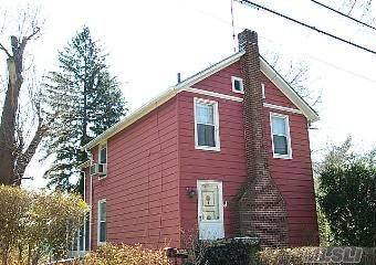 Diamond In The Rough...3 Bedroom Victorian On Oversized Lot On Quiet Desirable Sea Cliff Street--Possibilities Galore!