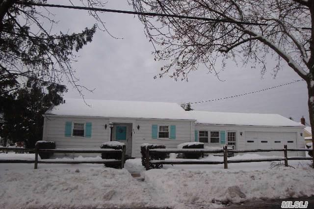 Being Sold As Is! Great Starter Home With Full Basement On Oversized 100X100 Property. 2 Car Attached Garage. Close To All