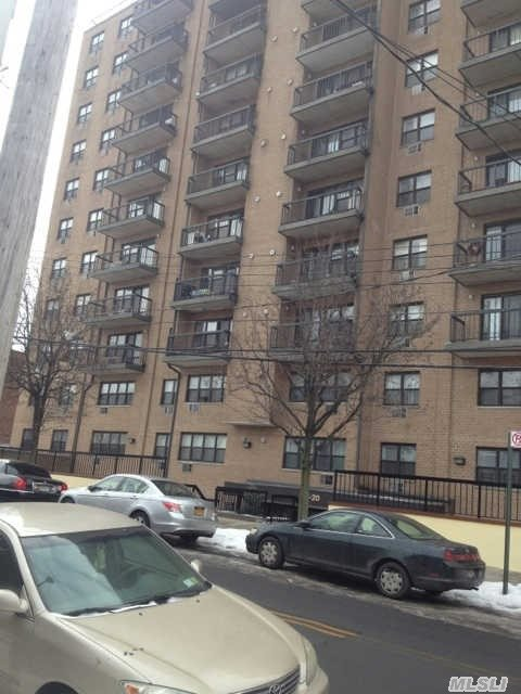 Door Man,  This Unit Includes One Indoor Parking,  Gym,  Sauna,  Two Elevators. Bridge View. Closed To Shopping & Transportation. One Block From Northern Blvd.