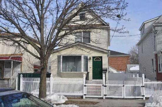 Legal Two Family Near St John's & Queens College. Renovated Kitchens And Baths. Finished Basement. Owner Occupy 2nd Floor And Basement. First Floor Rent $1, 350 (No Lease). Convenient To All