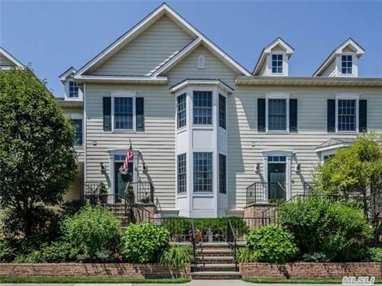Beautifully Designed Town House.  Traditional Exterior With Modern Enhancements And Custom Finishes.  Wonderful C Unit With Additional Square Footage For Possible Third Bedroom Or Large Master Suite/Sitting Area Or En Suite Nursery.