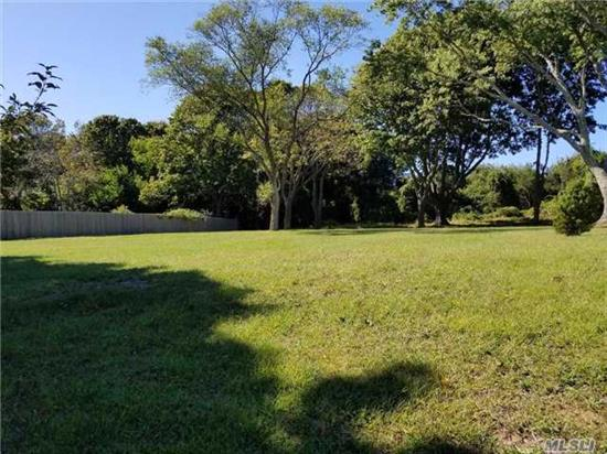 Bay Beach Community Lot ~ Build Your North Fork Dream House On This Third Of An Acre Lot That Backs Up To Preserved Land & Is Just Down The Lane From The Bay Haven Community Bay Beach! A Lovely Cleared Lot With A Few Mature Trees To Give It Grace.