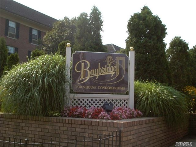 Baybridge A Private Condominium Community, 24 Hour Gated Security. Three Bedrooms, Can Be Converted To 2 Bedrooms, 2 Full Renovated Bathrooms, Updated Kitchen With Granite Counters , Skylight, New Windows, Parquet Floors, Garage, With Extended Driveway For 2 Additional Cars,  , Storage In Basement, Washer/Dryer In The Unit, Health Club - 2 Pools - Tennis - Sauna Etc. Pets