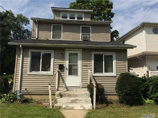 Home Is Located In Rockville Centre W/ Malverne Schools. House Needs Tlc.