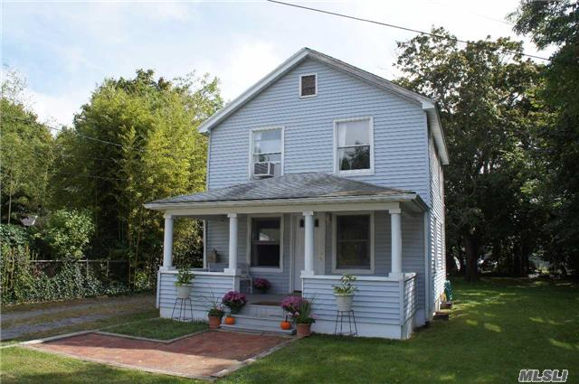 Fall In Love With This Sweet Home Nestled In The Heart Of Center Moriches.  Amazing Beach And Boating Community. Relax On The Front Porch On This Quiet Dead End Street! Award Winning Schools, Close To Moriches Bay And Low Taxes Make This Property A Perfect Fit! Priced Right So Don't Miss It!