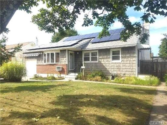 Lovely Updated 3 Bedroom 1 Bath Ranch Features Gallery Kitchen, Updated Bath, 2 Year Old Roof W/ Solar Panels, Central Vac, Gas Cast Iron Stove, Whole House Water Filter & Much More. Finished Basement With Ose & Summer Kitchen