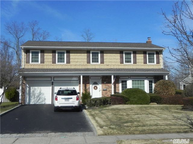 Wonderful Brookfield Colonial, 4 Br, 2.5 Bth, Hwfls. Updated Roof, Windows, Cesspool, Front & Garage Doors, Hi Hat Lights, Gas Fplc, Belgium Block Driveway, Igs, Gas Heat And Cooking, 200 Amp Electric(Copper Wire), Central Alarm, Hunter Douglas Blinds, Some New Appliances, Fenced Yard.