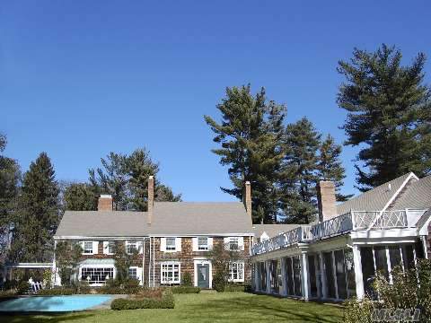 Lovely Colonial W/Magnificent 3 Br Guest Cottage W/Glassed/Screened Porch Overlooking Rose Garden And Heated Pool.Mature,Lush Landscaping On 10+ Acres In 2-Acre Zoning. So Many Extras. No Offer Accepted Until Formal Contracts Signed. Taxes And All Info Must Be Verified By Prospective Purchaser