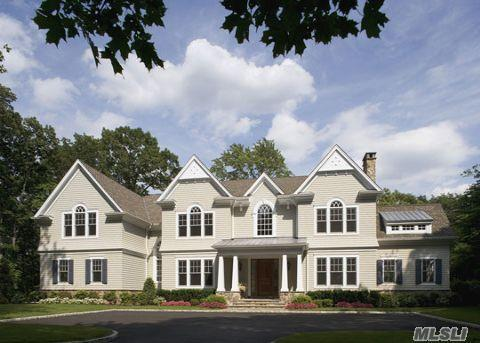 Over 1 Million Dollar Price Reduction!! $ 2+ Acre Ultra Luxury Construction In Cold Spring Harbor Schools. Stone & Cedar Exterior, 2 Story Entry Foyer, 4' Wide Wood Flrs, Crown Moldings, Raised Paneling, Cvac, Security Sys, 10' Ceilings, 3 Car Garage, Top Of The Line Appliances. Magnificent, Bursting With Charm And Elegance.