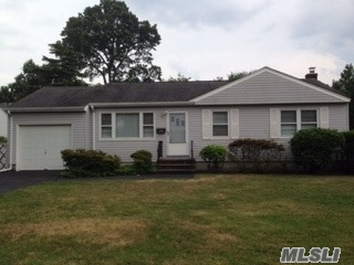 Wonderful Opportunity To Live In West Islip. Great Ranch With Lots Of Potential. Eat-In-Kitchen, Living Room, Dining Room With French Doors Leading To Nicely Landscaped Yard. Full Bath And Wood Floors Throughout. Full Basement With Ose. West Islip Schools!!! Taxes With Starr 8602.98