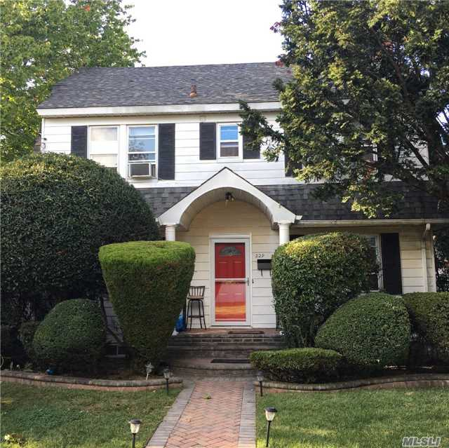 Pristine Center Hall Colonial Situated On 80X100 Lot, Updated Granite Kit. And Bath, 2 Car Garage, Full Finished Basement, Stand Up Attic, Fire Place, Near All